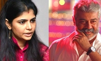 Chinmayi praises Thala Ajith's movie!