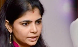 Chinmayi once again questions about serial sex offender