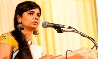 Chinmayi's fitting reply for advice to marry Vairamuthu!