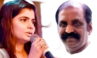Chinmayi shares another Me Too allegation against Vairamuthu!