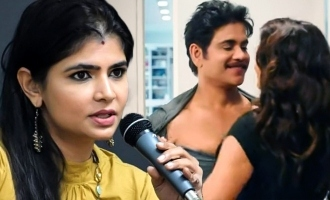 Chinmayi promotes husband's film, gets trolled for double standards!
