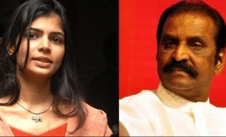Chinmayi raises question about Vairamuthu again