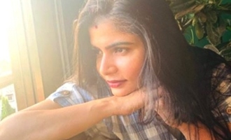 Chinmayi nose cut to the Unknown person on twitter