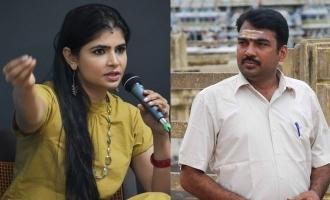 Chinmayi raises controversy against Rangaraj Pandey
