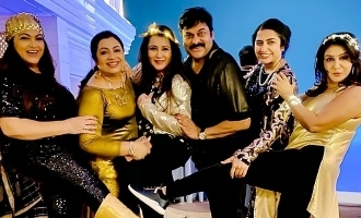 Chiranjeevi's unseen video with many eighties heroines goes viral