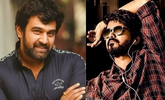 Chiranjeevi Sarja's Thalapathy Vijay song words in video sadly came true in his life