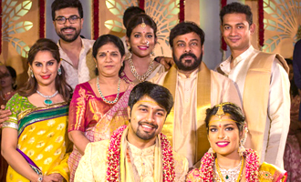 Chiranjeevi's daughter Sreeja and Kalyan Wedding
