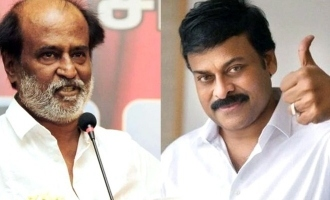 Chiranjeevi challenges Rajnikanth to take up challenge!