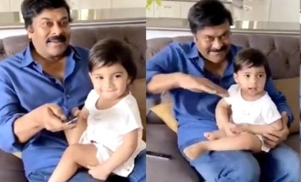 Chiranjeevi's cute video with granddaughter will melt hearts!