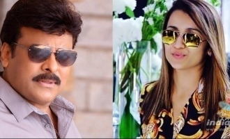 Chiranjeevi opens up about Trisha's exit from his mega film