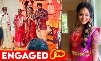 Television actress Chithra aka Pandian Stores Mullai gets engaged