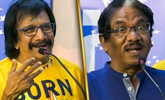 Why reckless fun at this age : Chitra Lakshmanan and Director Bharathiraja Speech