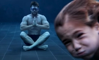 'Thor' hero Chris Hemsworth's son trolls his underwater meditation funny video