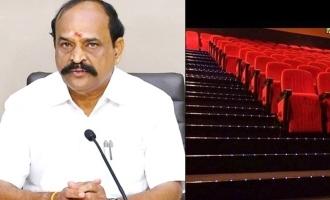 திரையரங்குகளுக்கு தளர்வுகள் எப்போது? அமைச்சர் கடம்பூர் ராஜூ