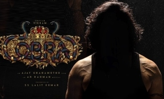 Chiyaan Vikram's 'Cobra' first look release date announced