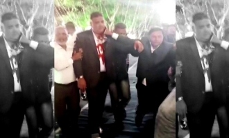 [VIDEO] Congress MLA stabbed in neck