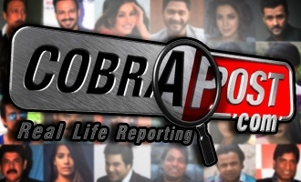 More than 30 actors exposed by Cobrapost!
