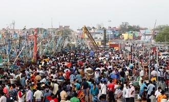 கொரோனாவை வாங்க மீன்மார்க்கெட்டில் குவிந்த சென்னை மக்கள்