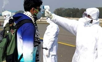 Four health personnel who screened patients at Hyderabad airport test positive