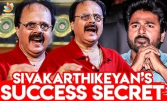Real Reason Of SivaKarthikeyan's Success : Crazy Mohan Interview