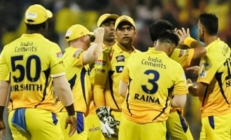 First time CSK get 8th place in IPL point table