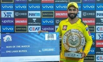 sk and kkr match review Ms Dhoni Ravindra Jadeja