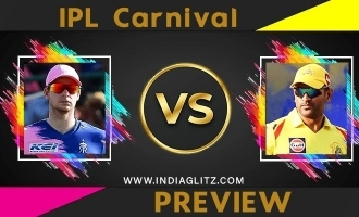 IPL carnival Preview  CSK vs RR