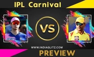 IPL carnival CSK Vs RR