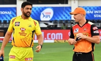 IPL CSK Vs SRH match Report