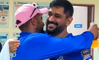 CSK released a video about Dhoni and Suresh Raina