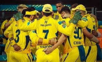 IPL 2021 CSK vs RCB Chennai defeats Bangalore 6 wicket win Dhoni Raina Kohli Padikkal Bravo Gaikwad Thakur Points Table Top