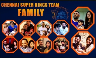 Chennai Super Kings family album slide show