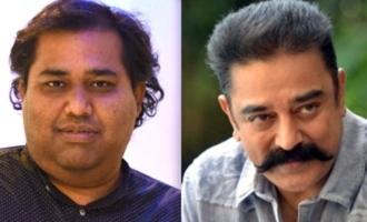 Producer CV Kumar trolls Kamal Haasan again!