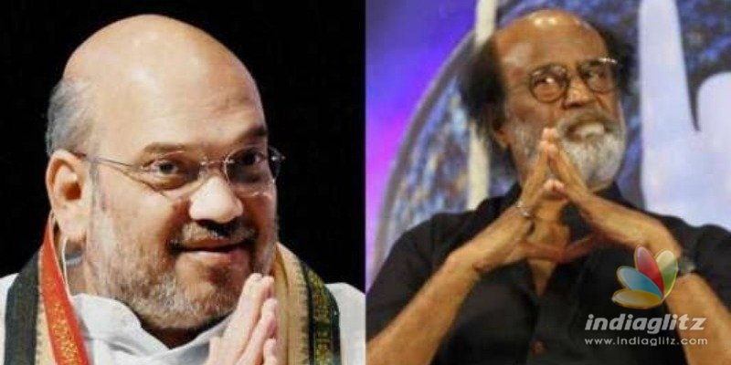 Superstar Rajinikanth heaps praise on Amit Shah for handling Kashmir