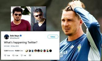 Ajith, Vijay fans confuse Dale Steyn on Twitter