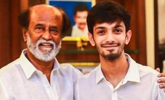 Anirudh's marana mass update about Rajnikanth's Darbar!