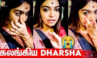 'Cooku With Comali' actress Darsha Gupta's sudden tearful video shocks fans