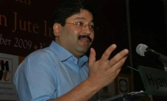 Dayanidhi talks with Modi former chief minister