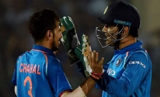 Valiant Dhoni and Chahal win the series for India!