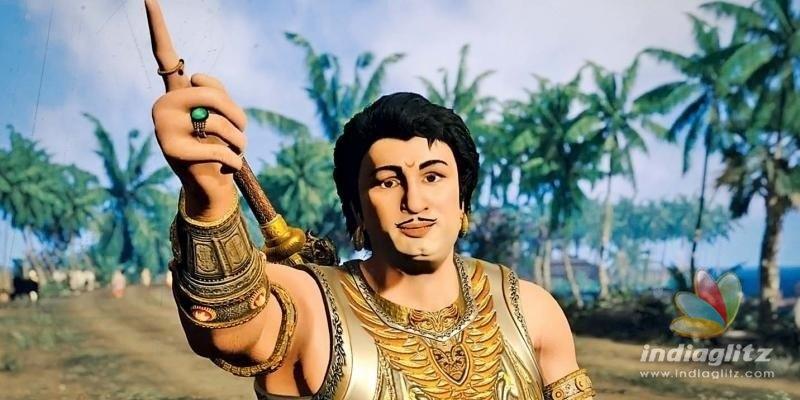 MGR-Jayalalitha in Ponniyin Selvan - details