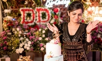 DD Dhivyadharshini's Birthday celebration photos turn viral!