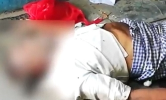 Shocking video shows dead body of COVID-19 patient eaten by dogs