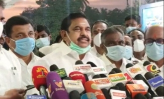 People of TN wont accept coalition govt says Palaniswami
