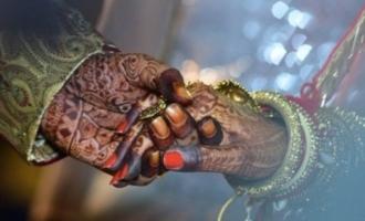 மும்பை மாப்பிள்ளைக்கும் டெல்லி பெண்ணிற்கும் வீடியோ காணொலி மூலம் நடைபெற்ற திருமணம்!!!