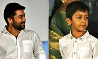 Suriya's son Dev to play the lead in a new movie