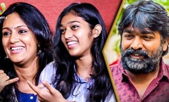 My Daughter's Debuting with Vijay Sethupathi Film : Devadharshini Interview