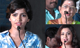 Dhanshika first choice for Rithika Singh role in Irudhi Suttru - Aari Speech