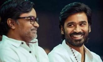 Dhanush Selvaraghavan new movie Naane Varuven title changed new title Kalaipuli S Thanu