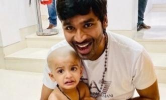 Dhanush does his duty as Thaai Maaman - Super cute pics out