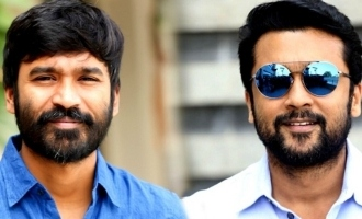Dhanush's message for Suriya
